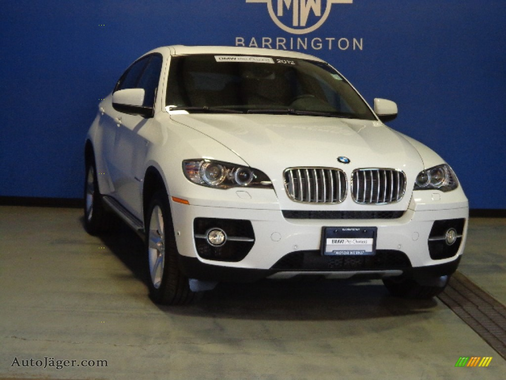 2012 bmw x6 xdrive50i in alpine white z97460 auto. Black Bedroom Furniture Sets. Home Design Ideas