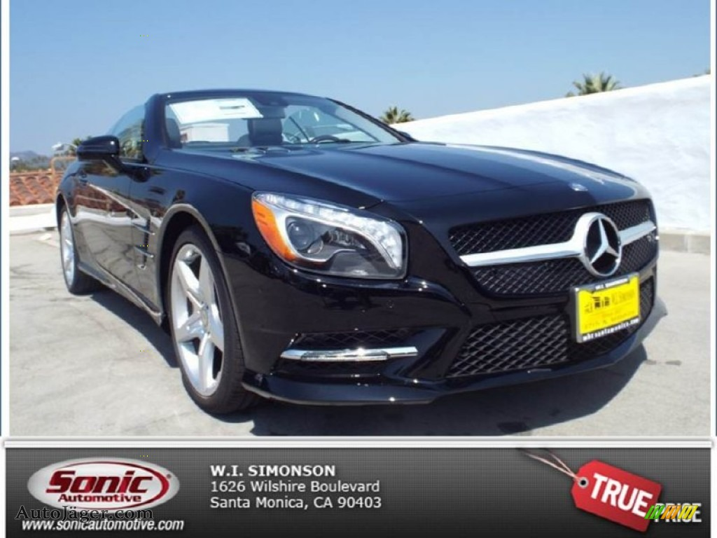2014 mercedes benz sl 550 roadster in black 022053. Black Bedroom Furniture Sets. Home Design Ideas