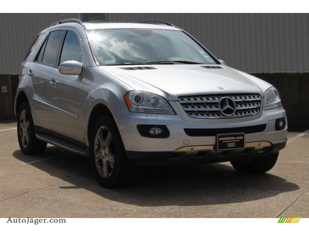2008 mercedes benz ml 350 4matic in iridium silver for Mercedes benz ml 350 2008