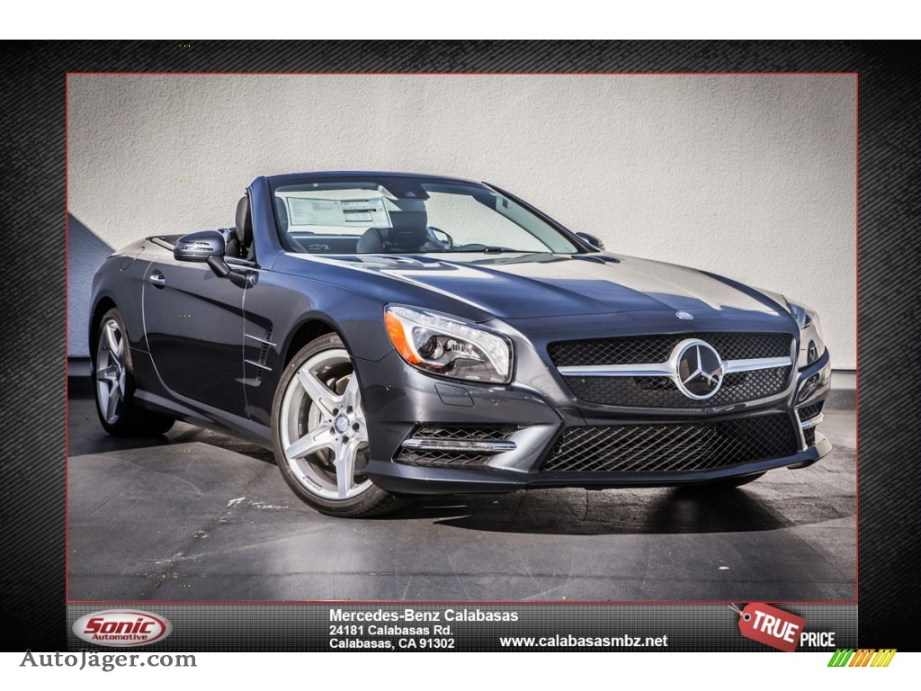 2014 mercedes benz sl 550 roadster in steel grey metallic. Black Bedroom Furniture Sets. Home Design Ideas