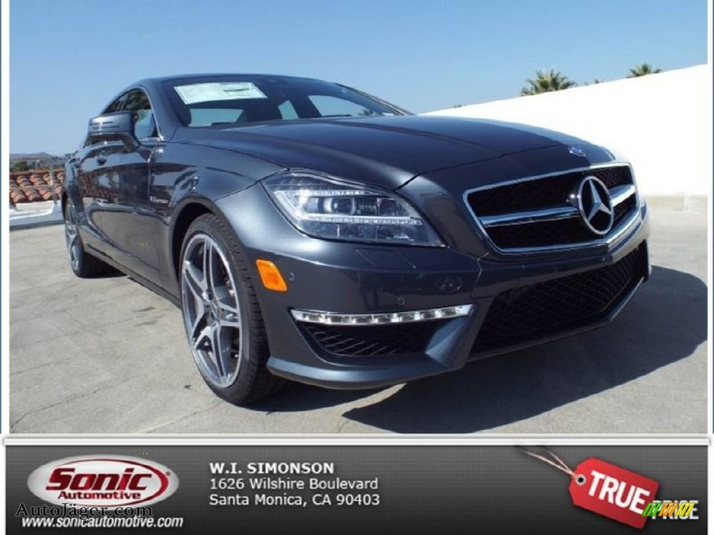 2014 mercedes benz cls 63 amg in steel gray metallic for Simonson mercedes benz