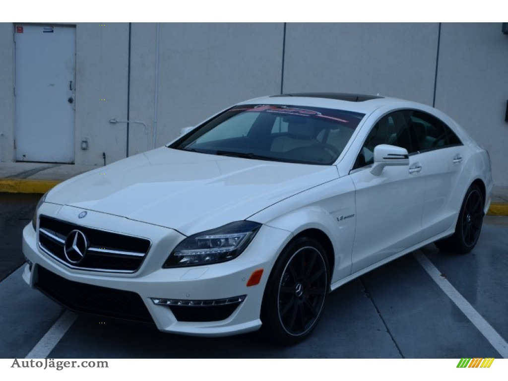 2014 mercedes benz cls 63 amg in diamond white metallic 105718 auto j ger german cars for. Black Bedroom Furniture Sets. Home Design Ideas