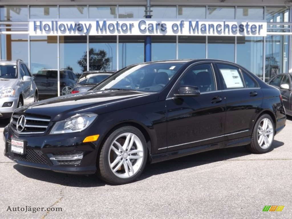 2014 mercedes benz c 300 4matic sport in black 307279 for Holloway motor cars manchester