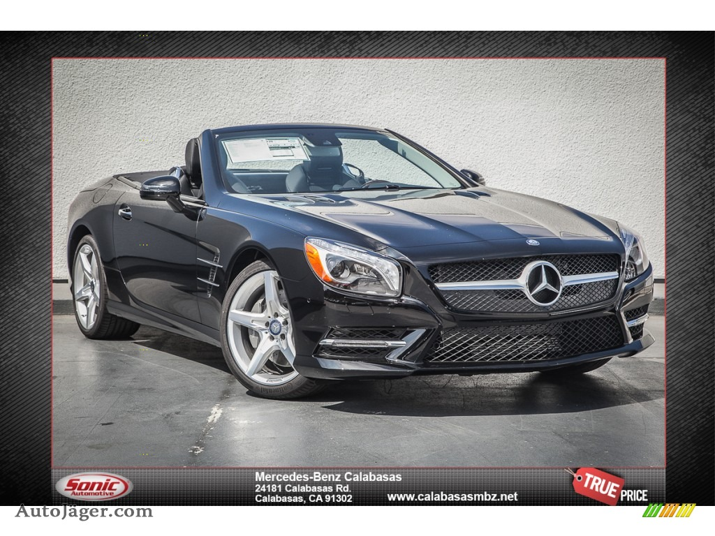 2014 mercedes benz sl 550 roadster in black 023324. Black Bedroom Furniture Sets. Home Design Ideas