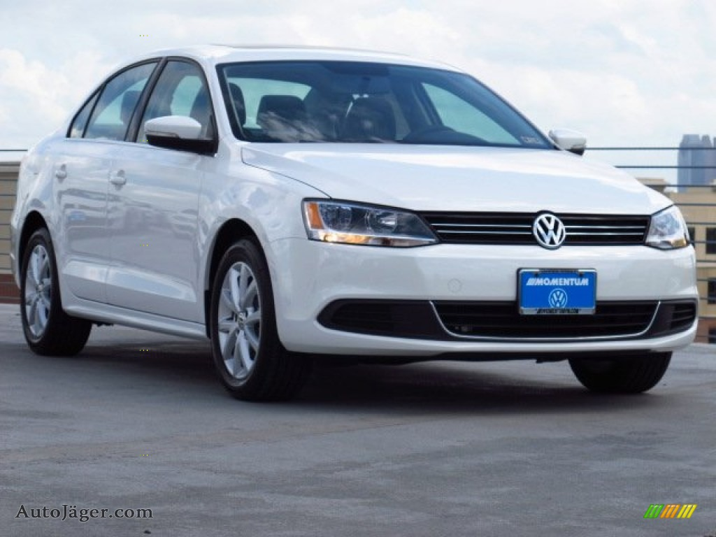 2014 volkswagen jetta se sedan in pure white 363575 auto j ger german cars for sale in the us. Black Bedroom Furniture Sets. Home Design Ideas