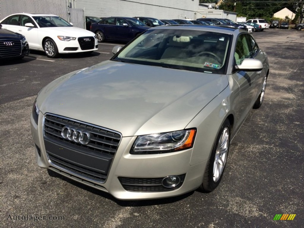 2011 audi a5 2 0t quattro coupe in sahara silver metallic 029595 auto j ger german cars. Black Bedroom Furniture Sets. Home Design Ideas