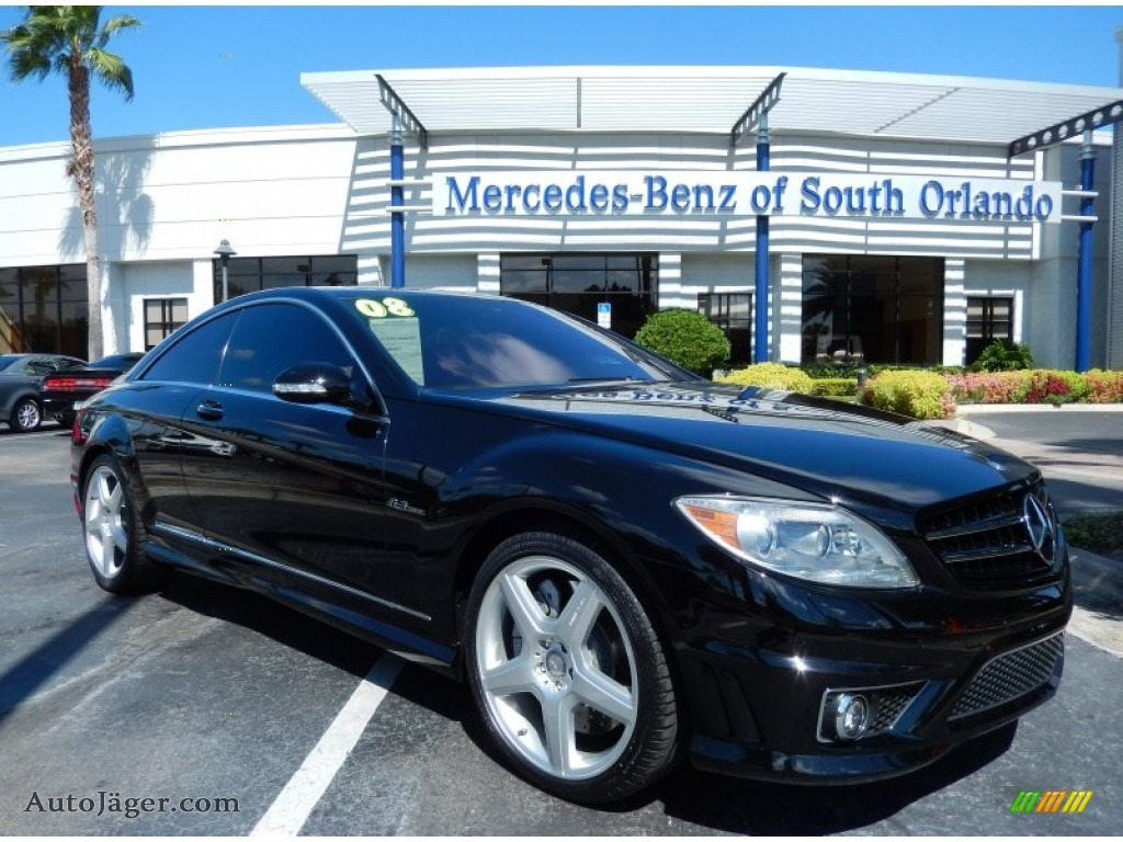 2008 mercedes benz cl 63 amg in black 015599 auto for Mercedes benz cl 300 for sale