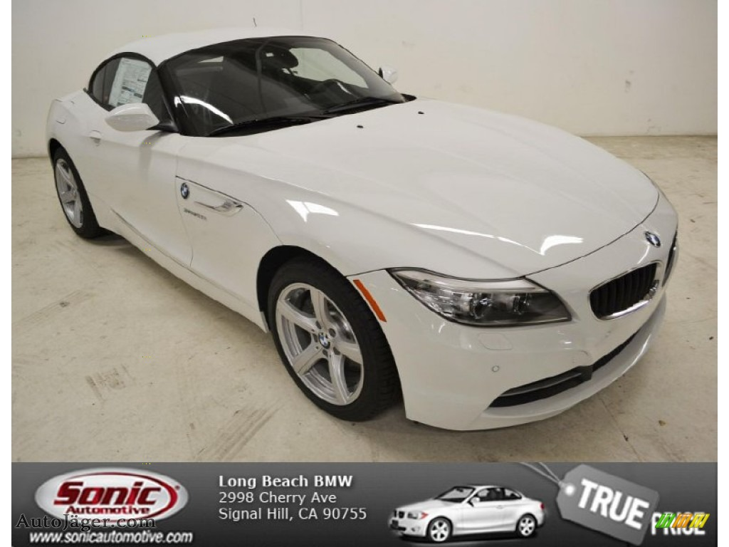 2014 bmw z4 sdrive28i in alpine white 105512 auto. Black Bedroom Furniture Sets. Home Design Ideas