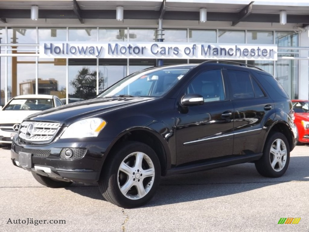 2008 mercedes benz ml 350 4matic in black photo 6 for Holloway motor cars manchester