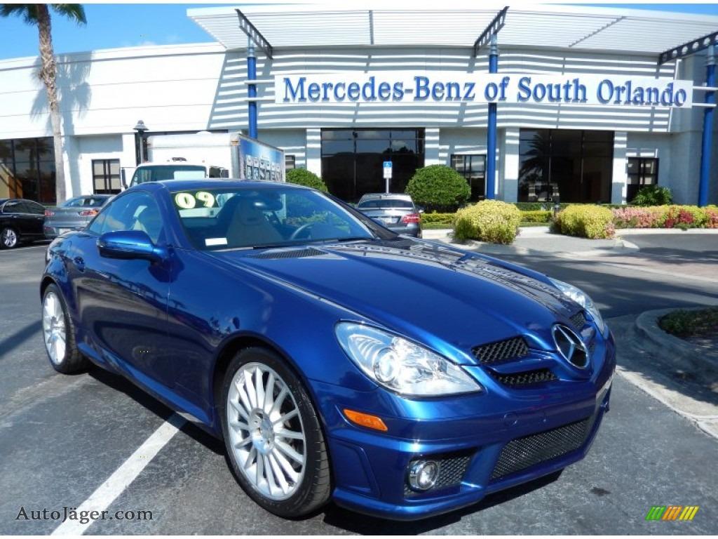 2009 mercedes benz slk 350 roadster in orion blue metallic for Mercedes benz millenia