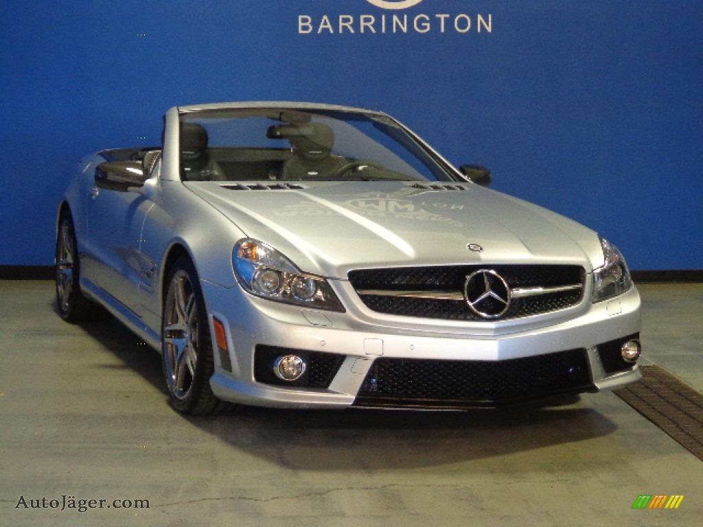 2012 mercedes benz sl 63 amg roadster in iridium silver for Mercedes benz motor werks barrington