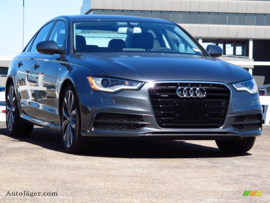 2014 audi a6 3 0 tdi quattro sedan in daytona grey pearl. Black Bedroom Furniture Sets. Home Design Ideas