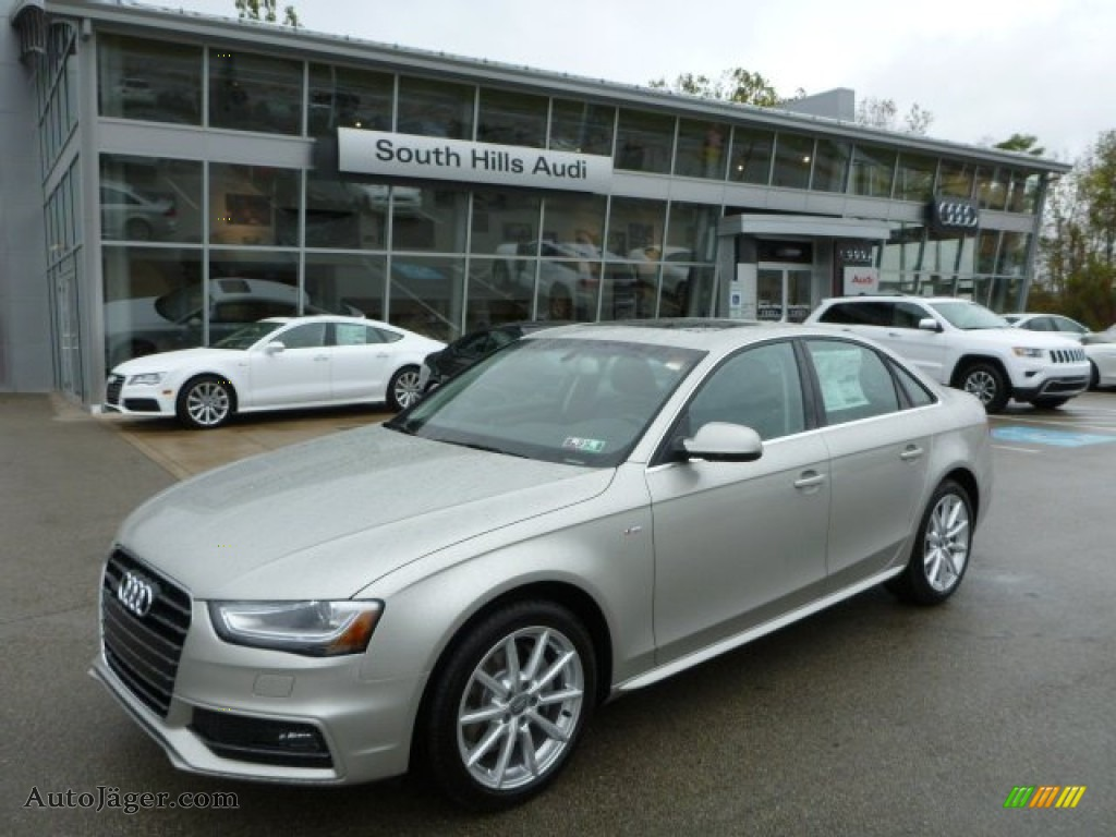 2014 Audi A4 2 0t Quattro Sedan In Cuvee Silver Metallic