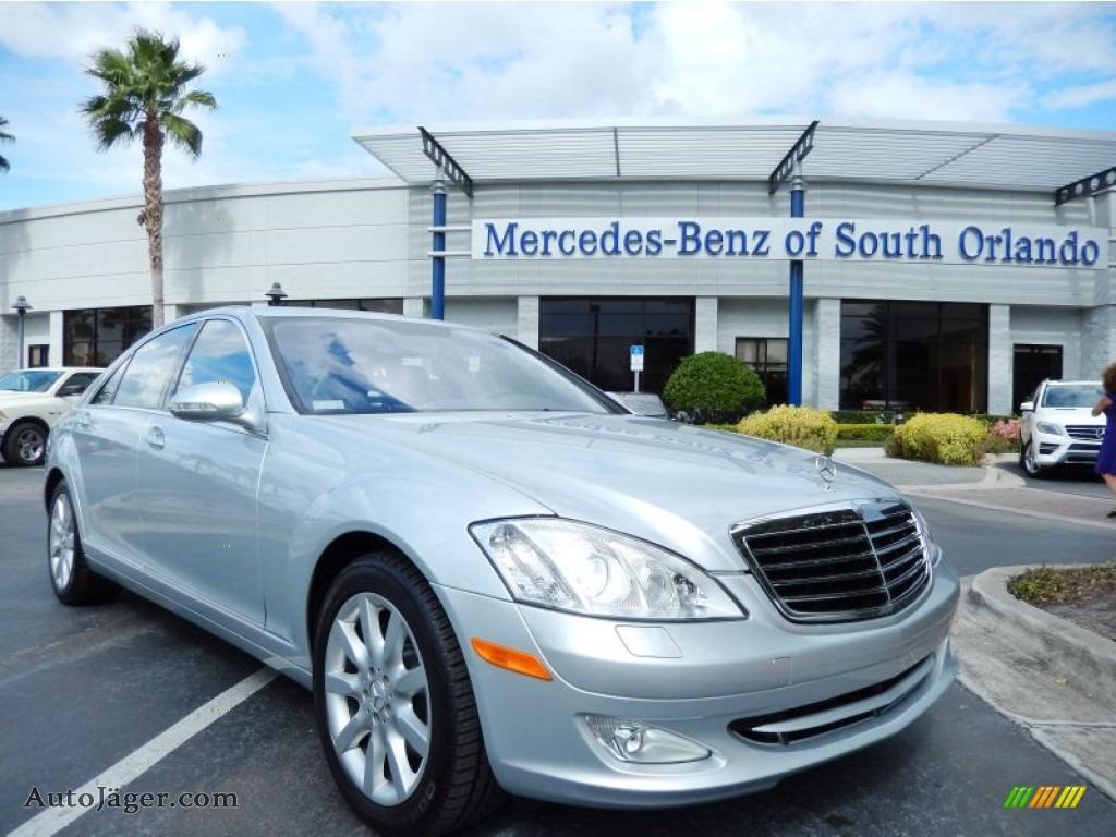 2007 mercedes benz s 550 sedan in iridium silver metallic for Mercedes benz of south orlando orlando fl 32839