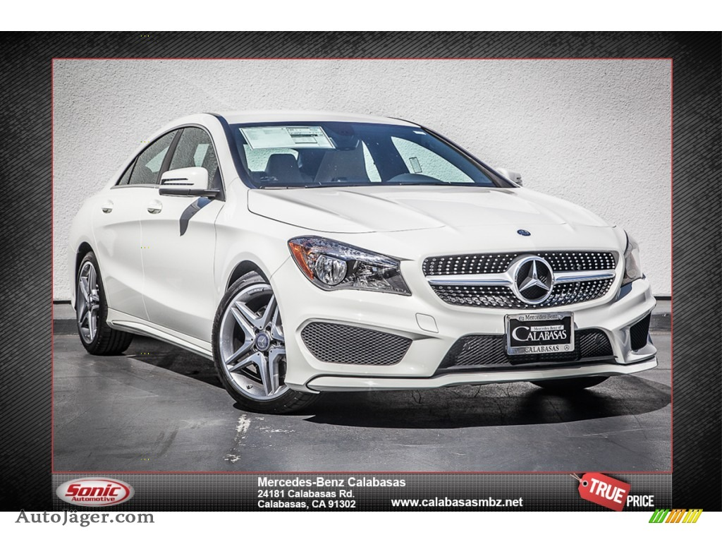 2014 Mercedes Benz Cla 250 In Cirrus White 035070 Auto J Ger German Cars For Sale In The Us