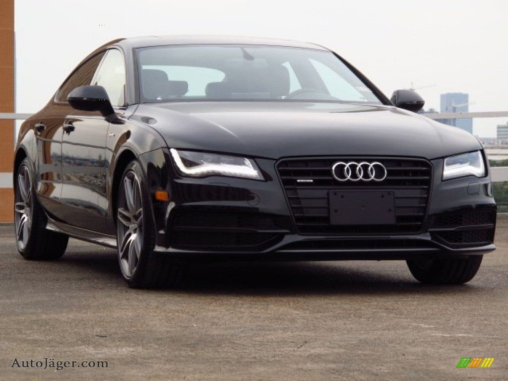 Audi s7 Black Optic Package 2015 Audi a7 Black Optic 2014