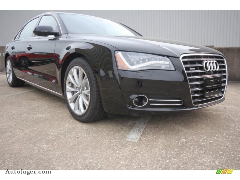 2014 audi a8 l 3 0t quattro in brilliant black 005075 auto j ger german cars for sale in. Black Bedroom Furniture Sets. Home Design Ideas