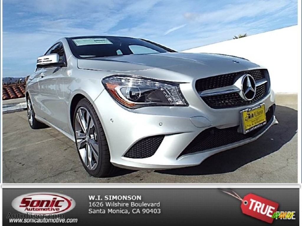 2014 mercedes benz cla 250 in polar silver metallic photo for Simonson mercedes benz