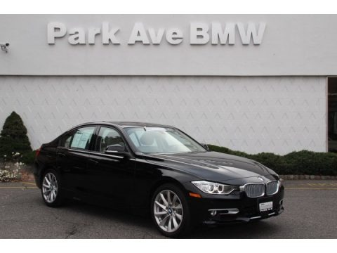 Jet Black 2013 BMW 3 Series 335i xDrive Sedan