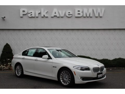 Alpine White 2013 BMW 5 Series ActiveHybrid 5