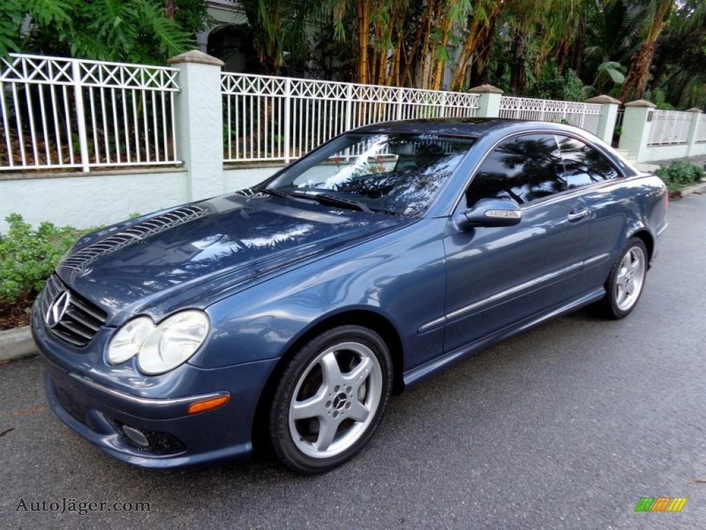 2004 mercedes benz clk 500 coupe in cadet blue metallic for 2004 mercedes benz clk 500