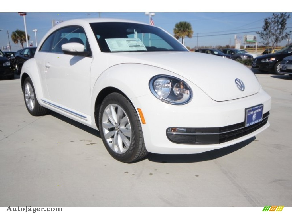 2014 Volkswagen Beetle Tdi In Pure White 628440 Auto