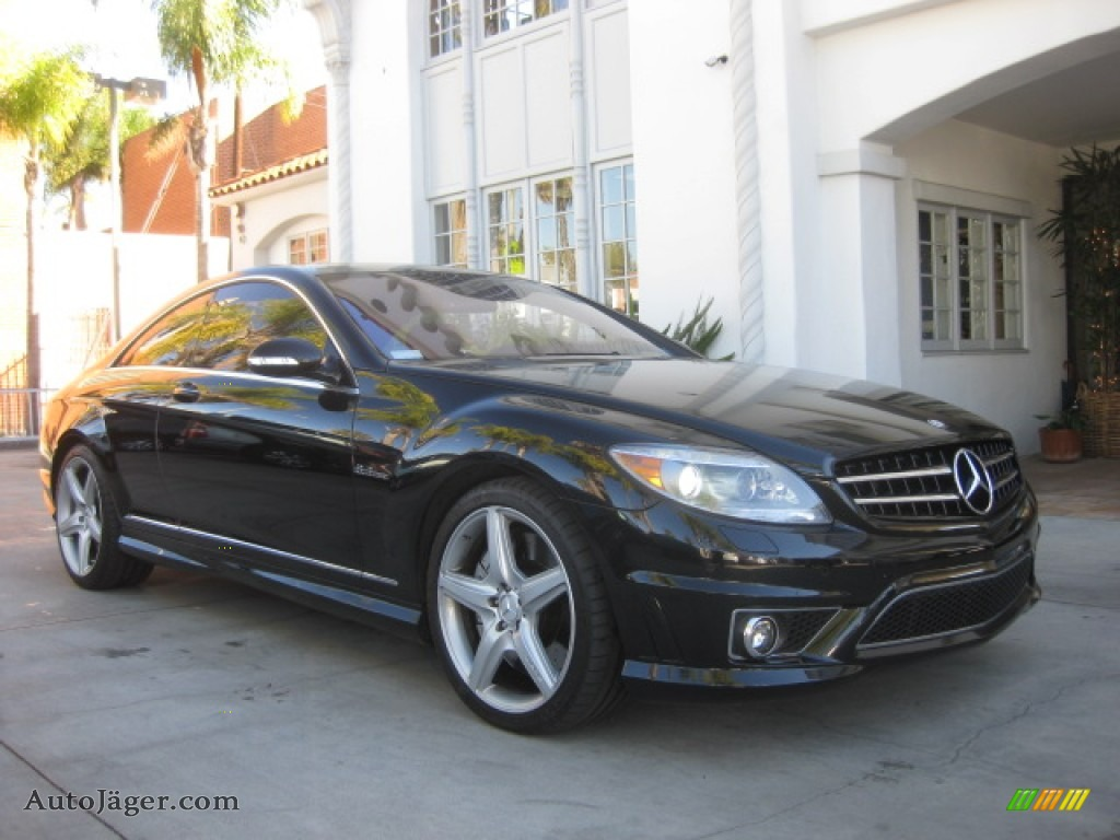 2009 mercedes benz cl 63 amg in black 020094 auto for Mercedes benz cl 300 for sale