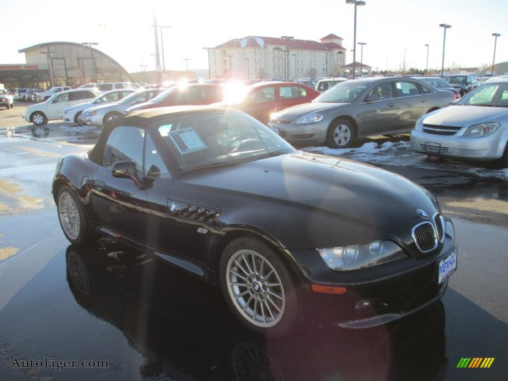 2002 bmw z3 roadster in jet black l50969 auto j ger german cars for sale in the us. Black Bedroom Furniture Sets. Home Design Ideas