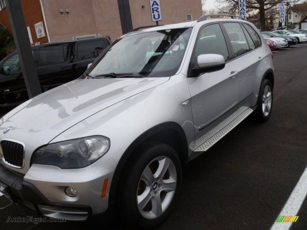 2008 bmw x5 in titanium silver metallic 000780 for Mercedes benz bloomfield ave nj