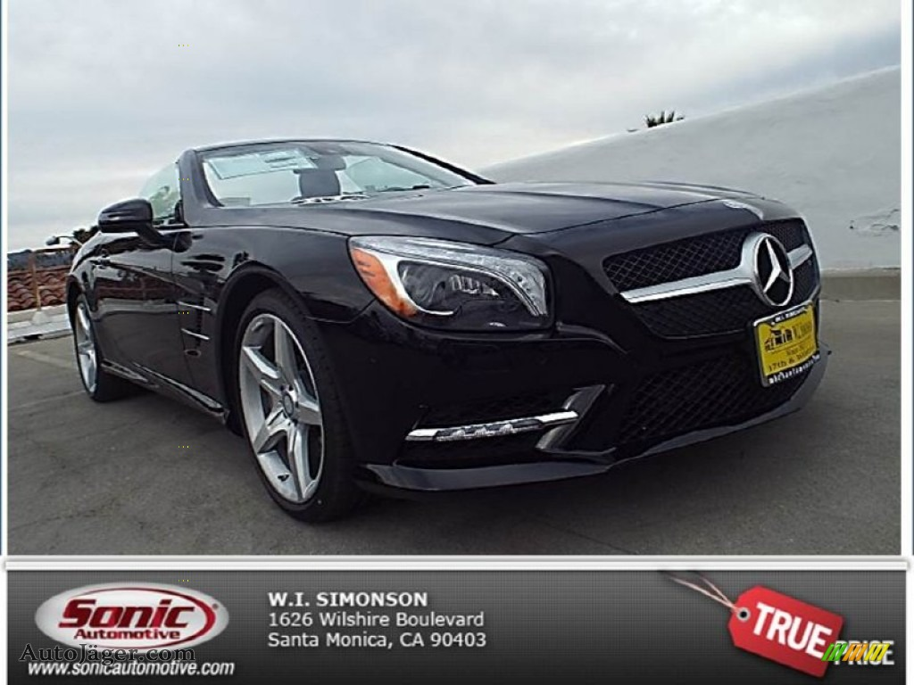 2014 mercedes benz sl 550 roadster in black 026553. Black Bedroom Furniture Sets. Home Design Ideas