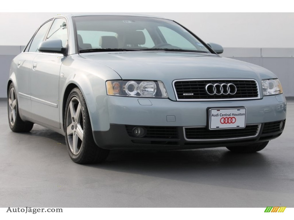 2002 audi a4 3 0 quattro sedan in crystal blue metallic. Black Bedroom Furniture Sets. Home Design Ideas