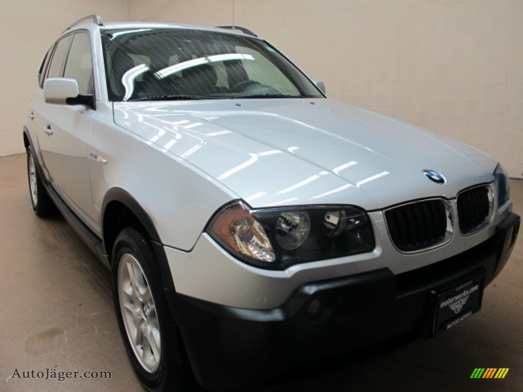 2004 bmw x3 in titanium silver metallic b29574. Black Bedroom Furniture Sets. Home Design Ideas