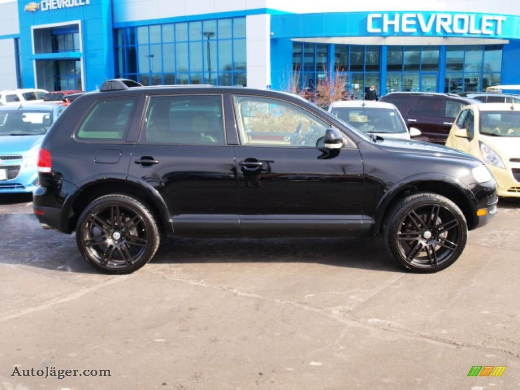 2006 volkswagen touareg v10 tdi in black 055201 auto j ger german cars for sale in the us. Black Bedroom Furniture Sets. Home Design Ideas