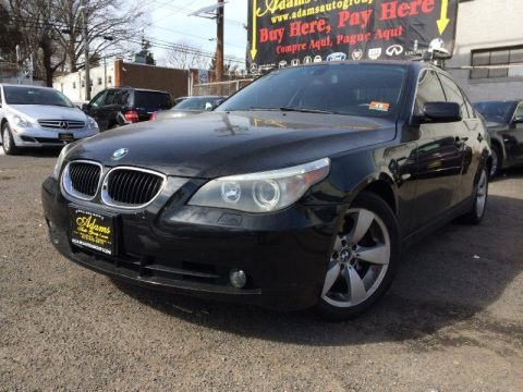 Black Sapphire Metallic 2004 BMW 5 Series 530i Sedan