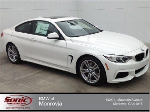 Alpine White 2014 BMW 4 Series 428i Coupe