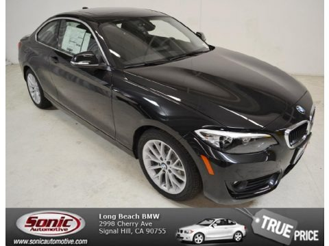 Black Sapphire Metallic 2014 BMW 2 Series 228i Coupe