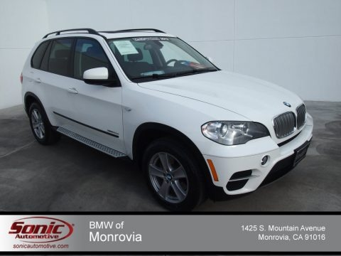 Alpine White 2012 BMW X5 xDrive35d