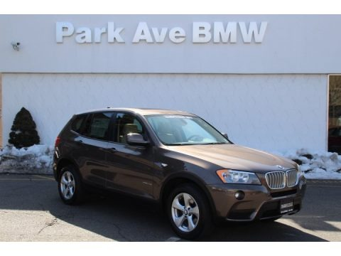 Space Gray Metallic 2011 BMW X3 xDrive 28i