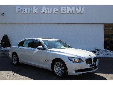 Mineral White Metallic 2011 BMW 7 Series 750Li xDrive Sedan