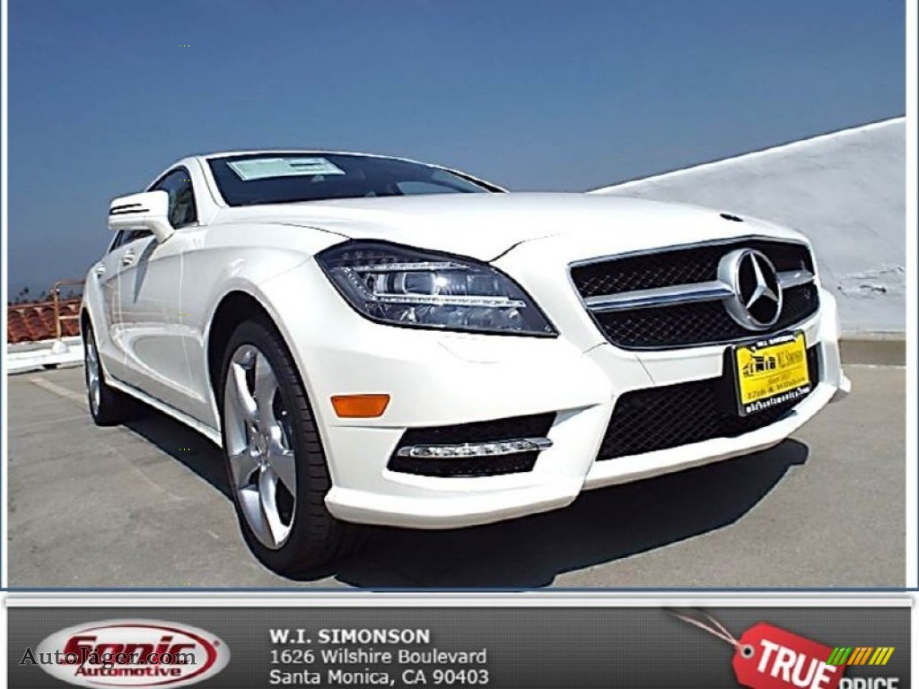 2014 mercedes benz cls 550 coupe in diamond white metallic for Simonson mercedes benz