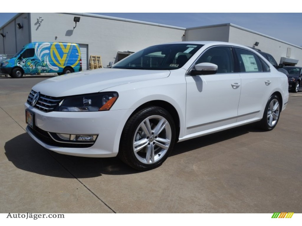 2014 Volkswagen Passat TDI SEL Premium in Candy White - 069558 | Auto Jäger - German Cars for ...