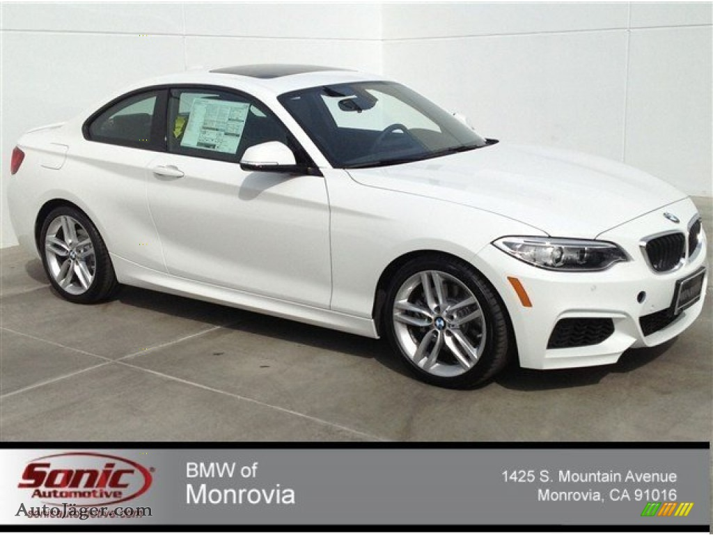 2014 BMW 2 Series 228i Coupe in Alpine White  V99470  Auto Jger
