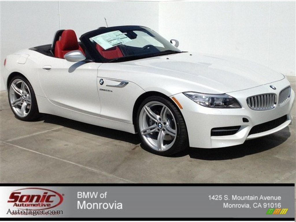 2014 Bmw Z4 Sdrive35is In Mineral White Metallic 634373