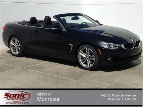 Black Sapphire Metallic 2014 BMW 4 Series 428i Convertible