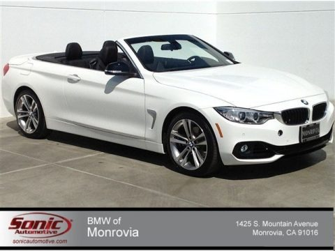 Alpine White 2014 BMW 4 Series 428i Convertible