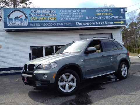 Mineral Green Metallic 2007 BMW X5 3.0si