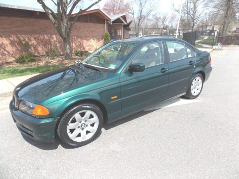 Fern Green Metallic 1999 BMW 3 Series 323i Sedan