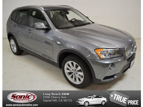 Space Gray Metallic 2014 BMW X3 xDrive28i