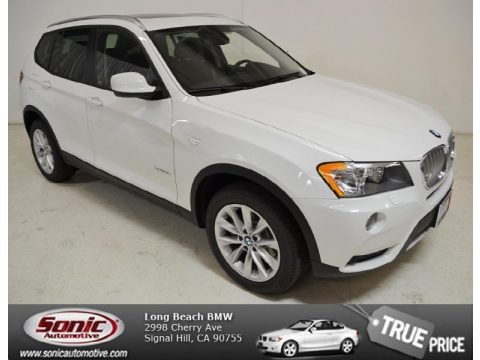 Alpine White 2014 BMW X3 xDrive28i