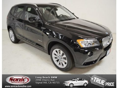 Jet Black 2014 BMW X3 xDrive28i